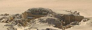 "General view of the tomb complex ""Lepsius no. 25"" from the northeast."