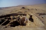 A view of the uncovered superstructure of Inti's mastaba. © Archive of the Czech Institute of Egyptology, Kamil Voděra.